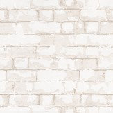 Galerie Brick Wall Stone White / Stone Wallpaper