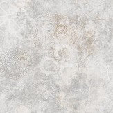 Galerie Horology Silver Grey Wallpaper