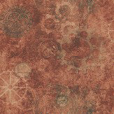 Galerie Horology Copper Copper / Red / Orange Wallpaper