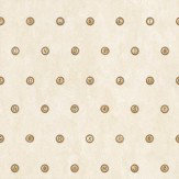 Galerie Typewriter Keys Cream Warm Cream / Brown Wallpaper