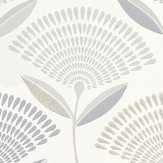 Prestigious Calia  Silver Wallpaper - Product code: 1622/909
