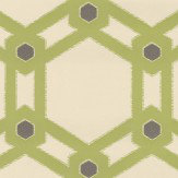 Villa Nova Claremont Lime Wallpaper