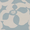 Villa Nova Makela Mono Fjord Blue / Silver Wallpaper - Product code: W530/06