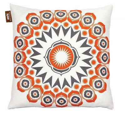 Image of Mini Moderns Cushions Darjeeling Cushion, DARJEELING TANG