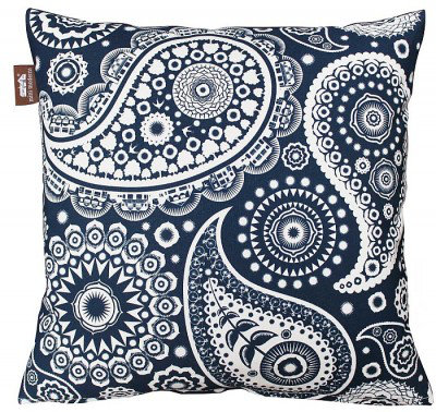 Image of Mini Moderns Cushions Paisley Crescent Cushion, PAISLEY CRESCENT