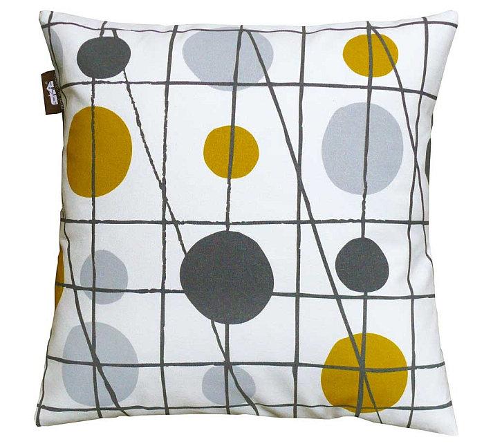 Pavilion  Cushion - Mustard - by Mini Moderns