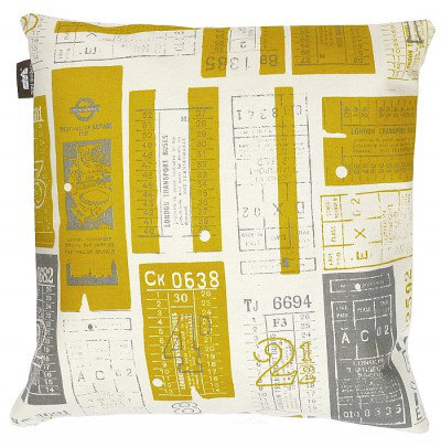 Mini Moderns Cushions Tickets Please Cushion TICKETS PLEASE