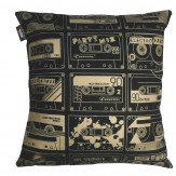 Mini Moderns C-60 Cushion Chalkboard & Gold  - Product code: C-60 CHALKBOARD