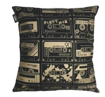 Image of Mini Moderns Cushions C-60 Cushion, C-60 CHALKBOARD