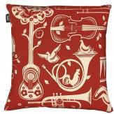 Mini Moderns Pet Sounds Cushion Harvest Orange