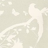 Laura Ashley Oriental Garden  Linen Wallpaper