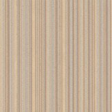 Albany Textured Pinstripe Cream Brown / Cream Wallpaper