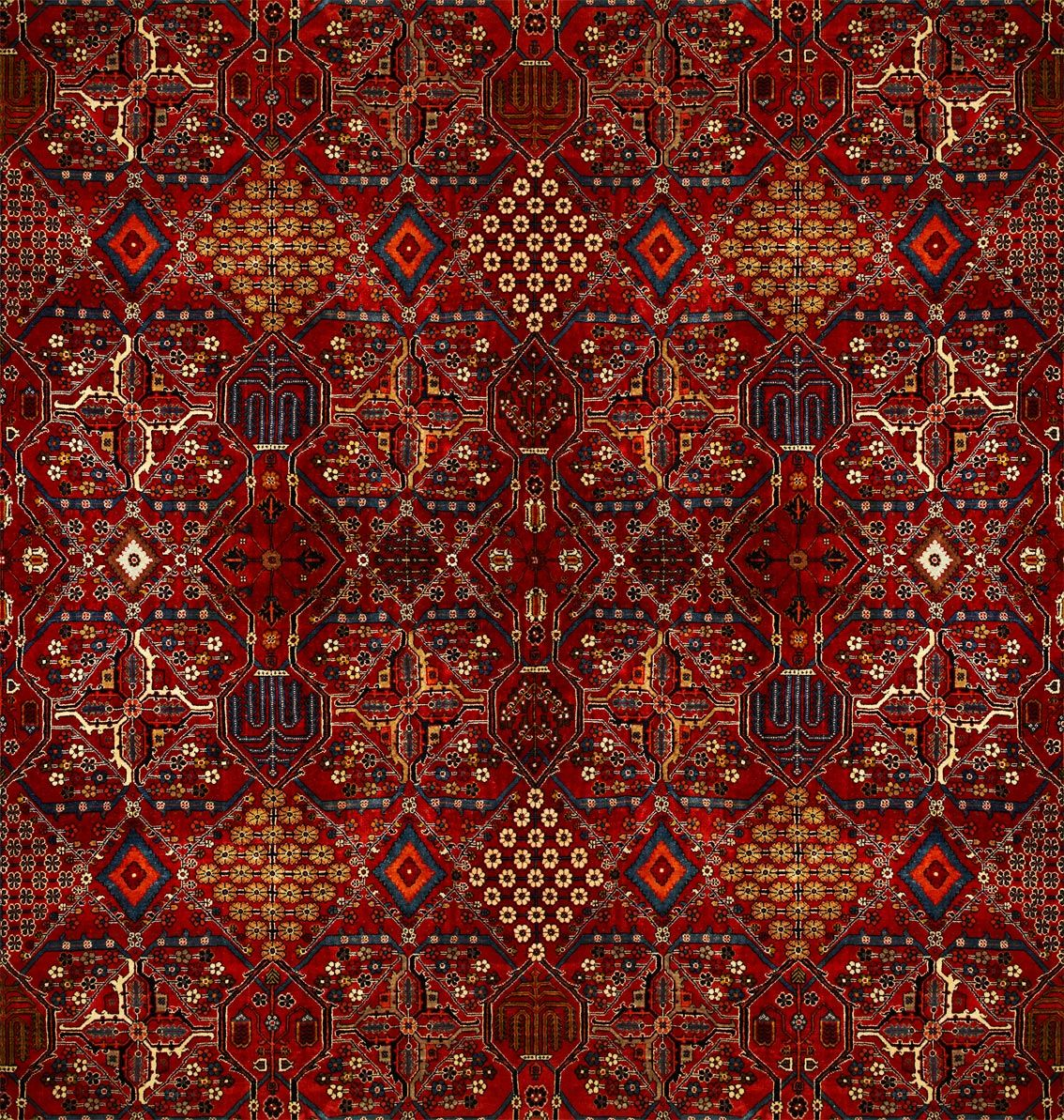 Mey Meh By House Of Hackney Red Gold Wallpaper Direct