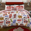 Beano Crash Boom Double Duvet Set Bedding