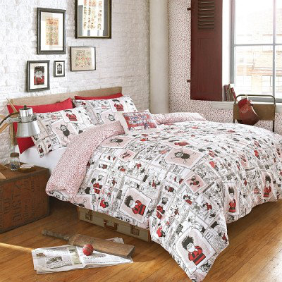 Image of Beano Duvet covers Beano Scrapbook Double Duvet Set, 563010