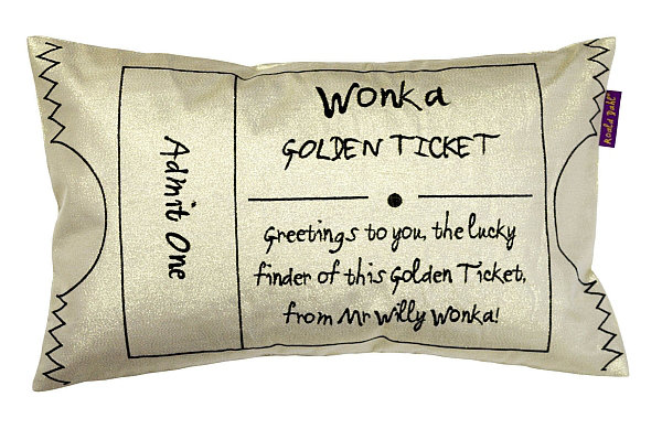 Charlie Amp The Chocolate Factory Golden Ticket By Roald