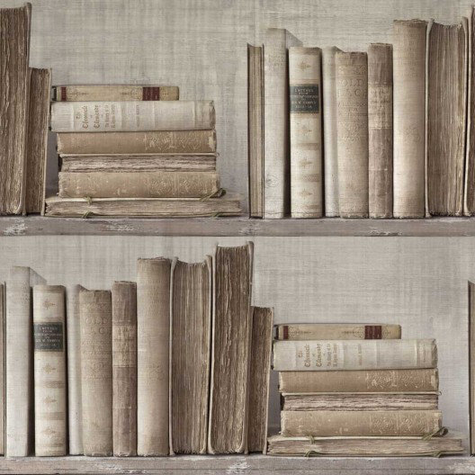 Image of Sidney Paul & Co Wallpapers Lexicon Neutral, SPW0011-01