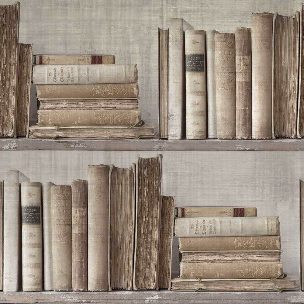 Sidney Paul & Co Lexicon Brown Wallpaper - Product code: SPW0011-01