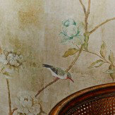 Sidney Paul & Co Chinoiserie Gold Mural - Product code: SPW0018-01
