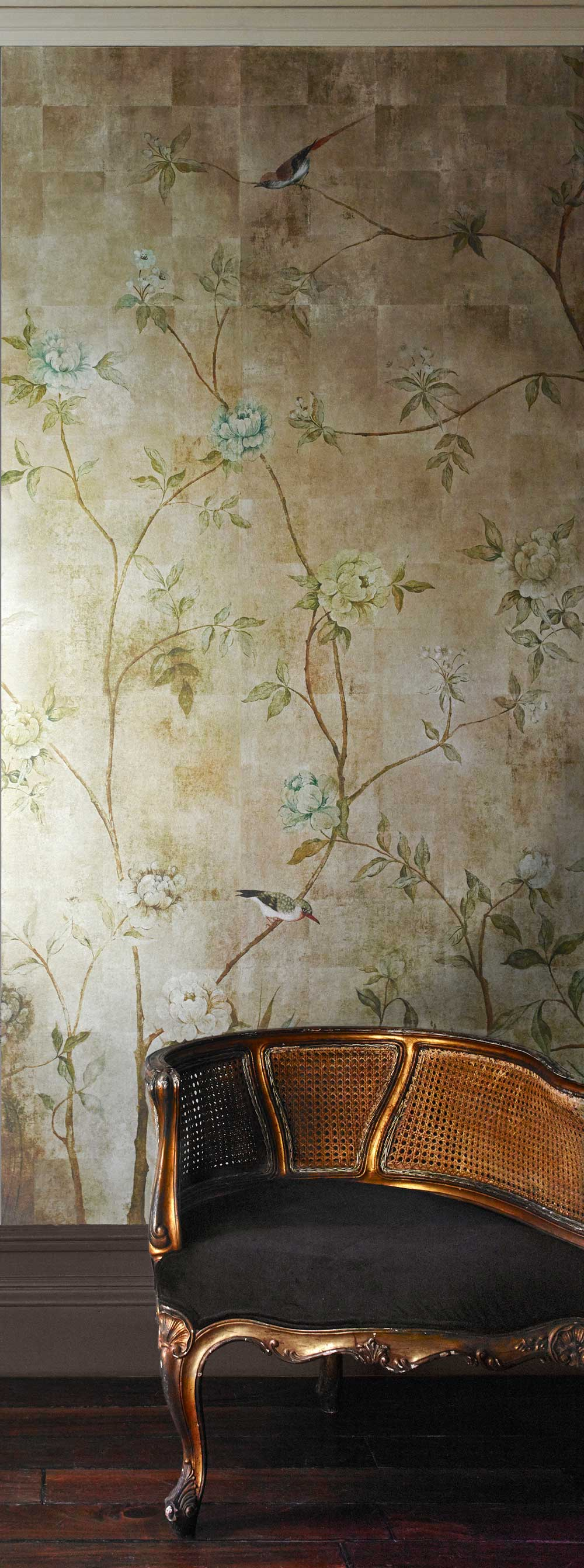 Chinoiserie By Sidney Paul Amp Co Gold Wallpaper Direct