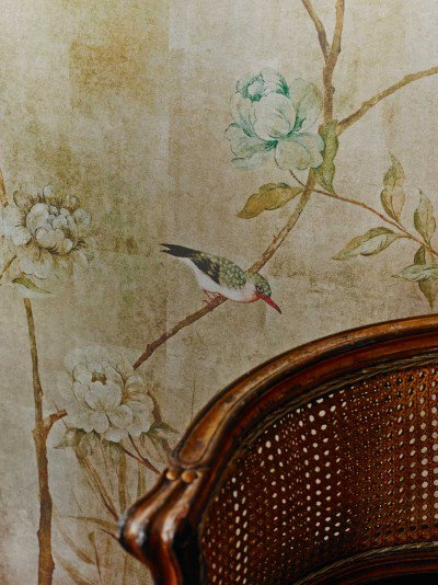 Image of Sidney Paul & Co Murals Chinoiserie, SPW0018-01