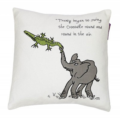 Image of Roald Dahl Cushions The Enormous Crocodile Cushion, 453015