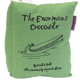 Roald Dahl The Enormous Crocodile Book Cushion