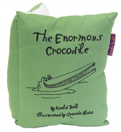 Image of Roald Dahl Cushions The Enormous Crocodile Book Cushion, 453020