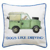 Emma Bridgewater Emma Bridgewater Dogs like Driving cushion