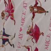 Emma Bridgewater Emma Bridgewater Dancing Mice Double Duvet set Pink Duvet Cover