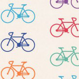 Ginger & French Bicycle Multi Wallpaper