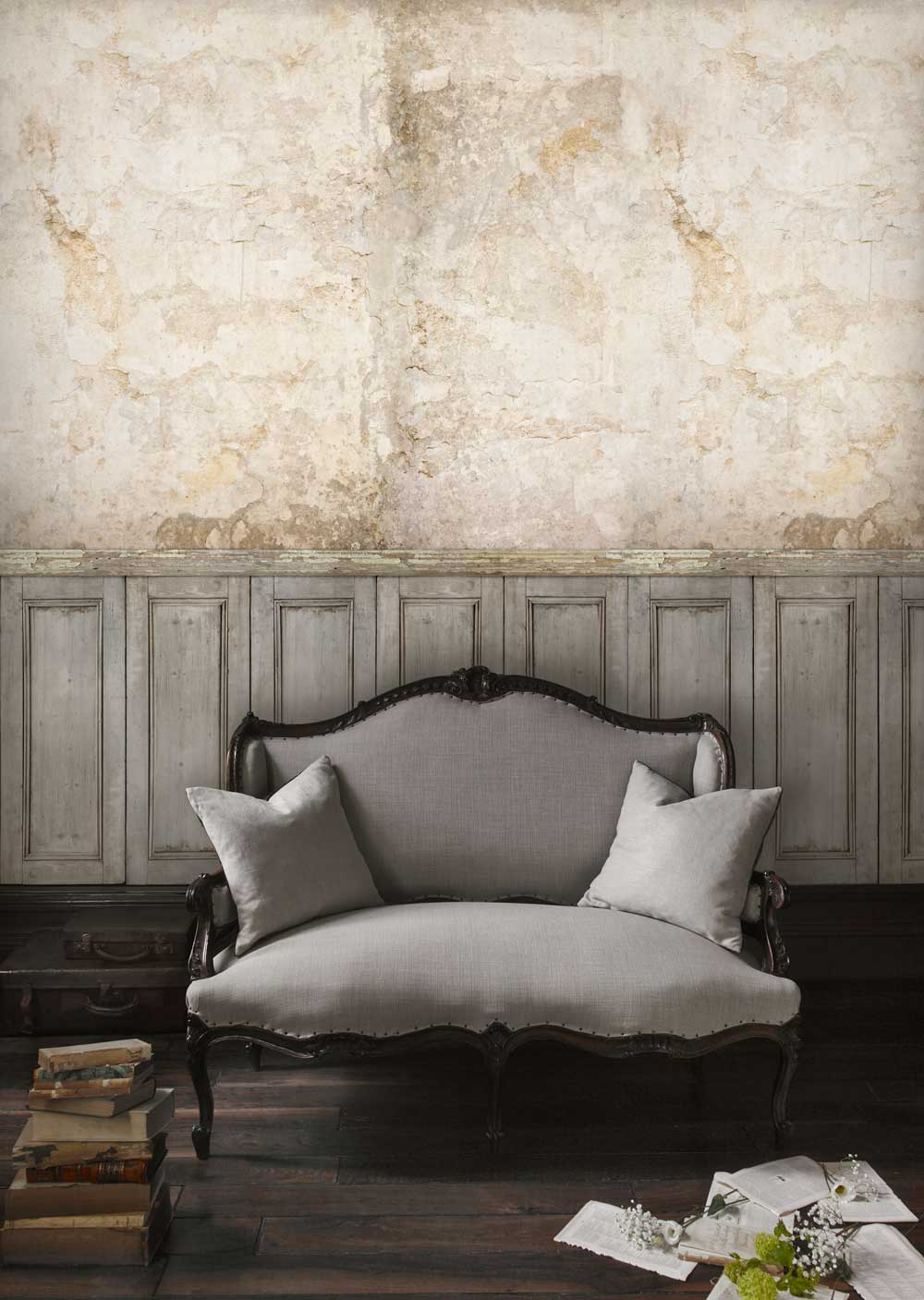 Sidney Paul & Co Facade Panel Neutral Mural - Product code: SPW0022-01