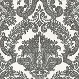 Coordonne Equus White/Black Black / White Wallpaper