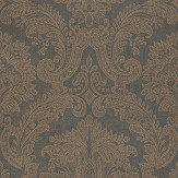 Coordonne Equus Black/Bronze Wallpaper