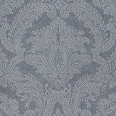 Coordonne Equus Blue/Silver Wallpaper