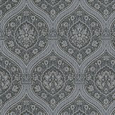 Coordonne Otoman Black/Silver Wallpaper