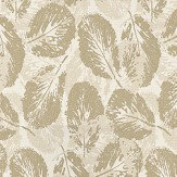 Coordonne Glace Gold Gold / Cream Wallpaper