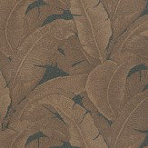 Coordonne Teide Black/Bronze Wallpaper