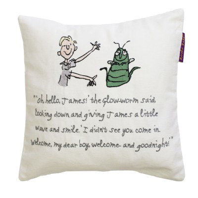 Image of Roald Dahl Cushions James Giant Peach Cushion, 455015