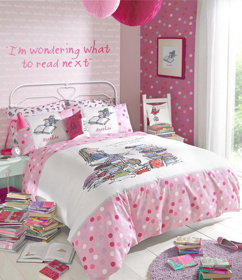 Matilda Cushion by Roald Dahl : Wallpaper Direct