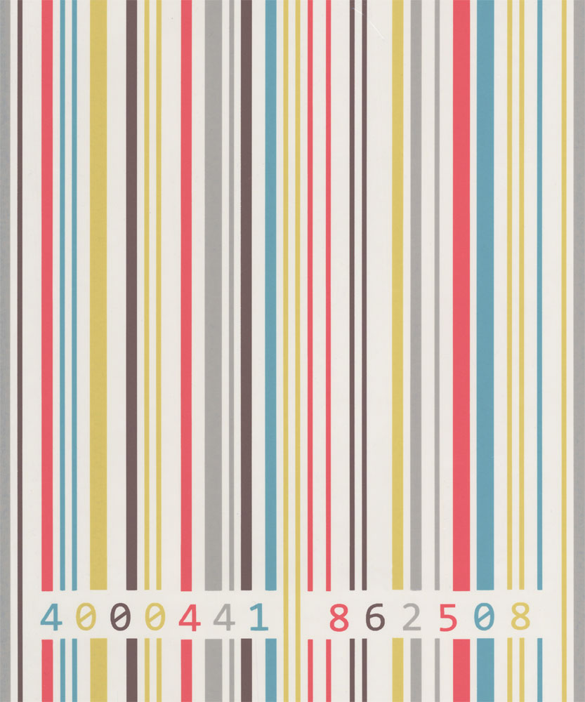 Albany Barcode Motif Stripe Multi Wallpaper - Product code: 862515