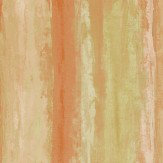 iliv Piazza Fresco Burnt Orange Orange / Green Wallpaper