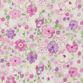 Sanderson Posy Floral Lavender Fabric - Product code: 223904