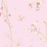 Sanderson Fairyland Pink Fabric - Product code: 223920
