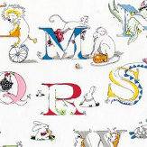 Sanderson Alphabet Zoo   Embroidery Fabric - Product code: 233924