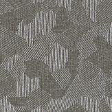Zoffany Hexa   Graphite Wallpaper
