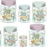 Louise Body Jars Fabric White / Multi - Product code: JARS