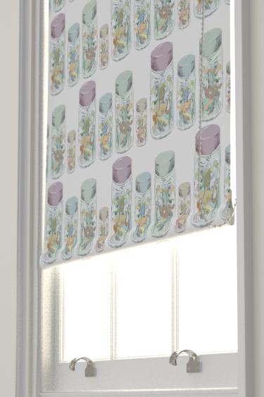 Louise Body Jars Fabric White / Multi Blind - Product code: JARS