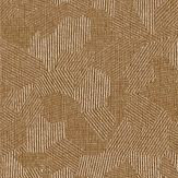 Zoffany Hexa  Copper Wallpaper