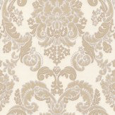 Albany Tirano Cream/ Gold Wallpaper